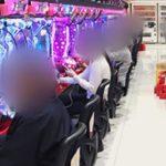 パチンコの営業自粛を 高齢者が集結