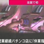 兵庫県 営業続けるパチンコ店に全国初「休業指示」(20/05/01)