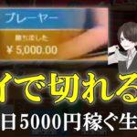 【オンラインカジノ生活4日目】パイザカジノの新ライブカジノバカラは稼げるのか?タイは切れる説を検証実践!