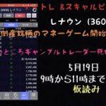 5/14 レナウン(3606) ギャンブルトレーダー終わり。。。。