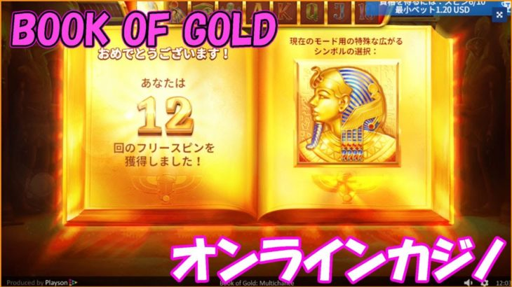 Book of GOLD【オンラインカジノ】