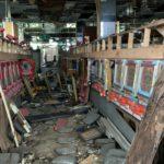 残留物が数多く残るパチンコ店の廃墟を探索してみた