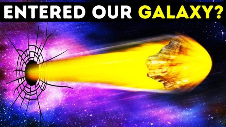 天の川銀河からパチンコのように飛び出していった星